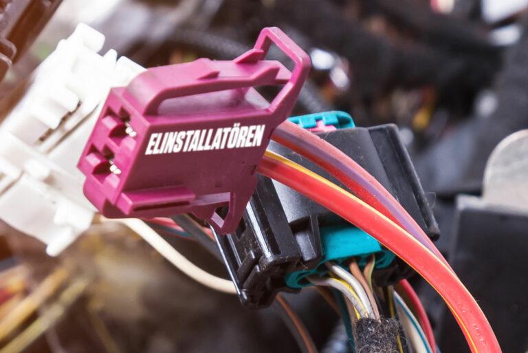 Prototyp av Elinstallatörens nya kopplingsklämma.
