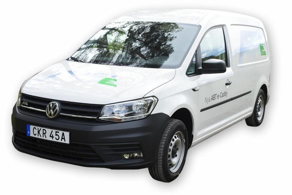Volkswagen ABT e-Caddy, 750 kg.