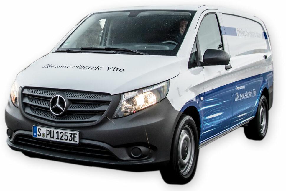 Mercedes-Benz e-Vito, 0 kg.