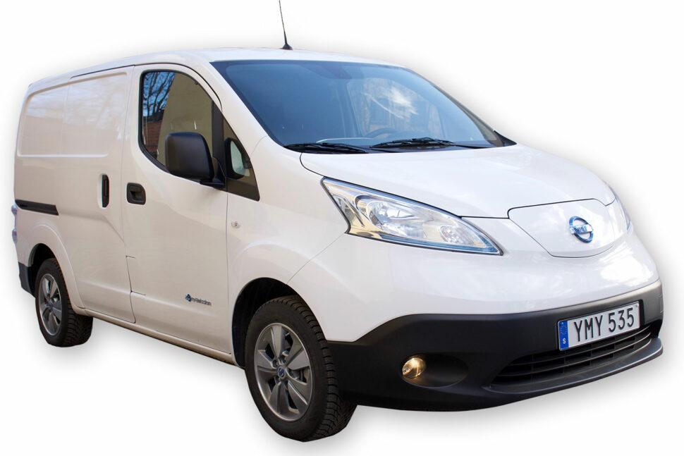 Nissan e-NV200, 450 kg.