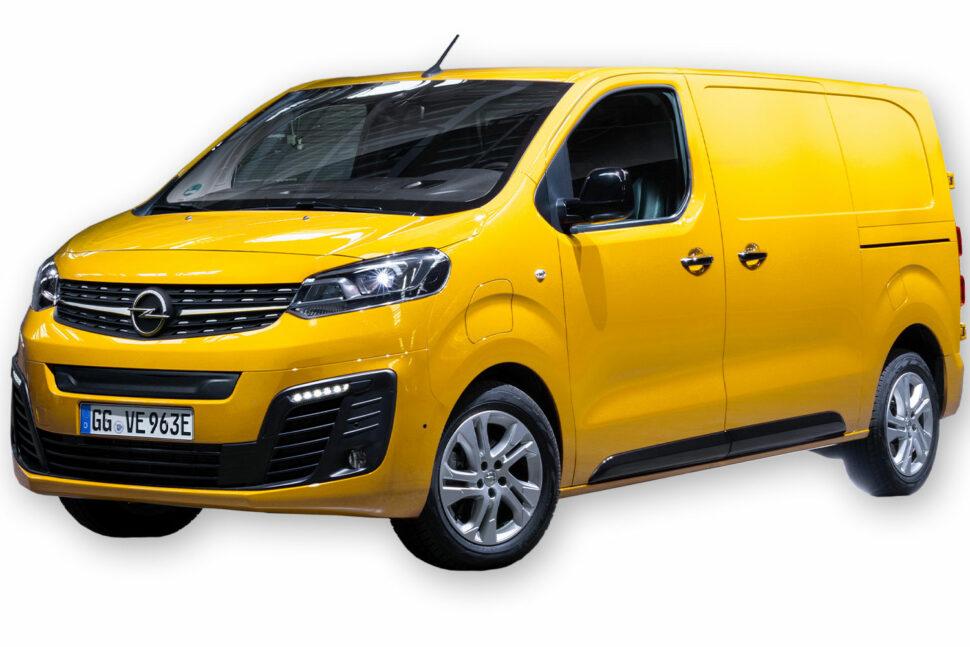 Opel Vivaro-e, 1 000 kg.