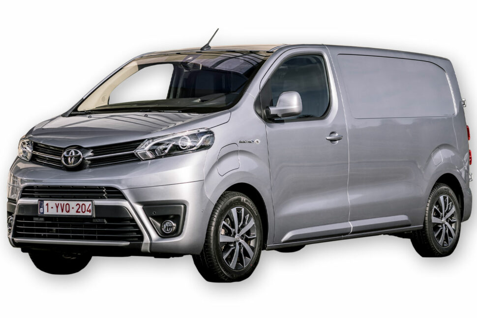 Toyota Proace Electric: 1 000 kg.