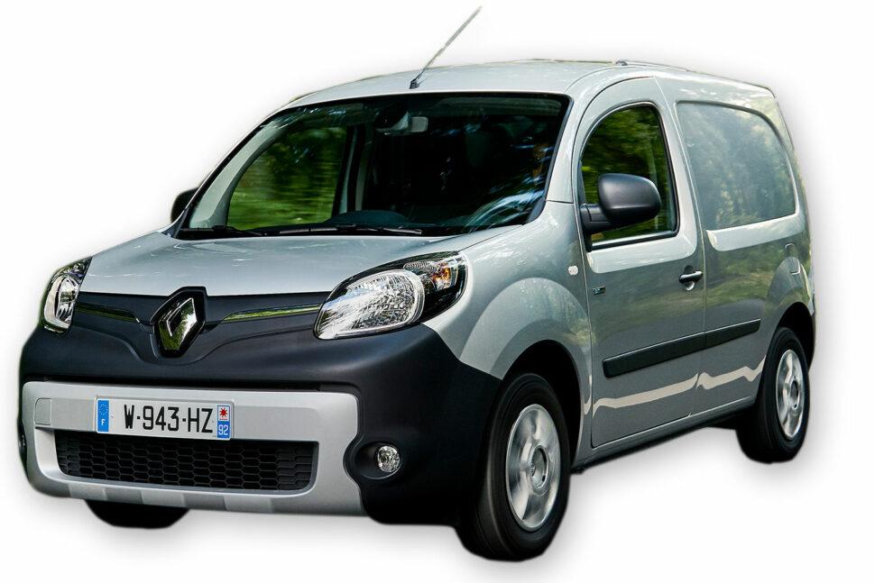 Renault Kangoo E-Tech Electric, 375 kg.