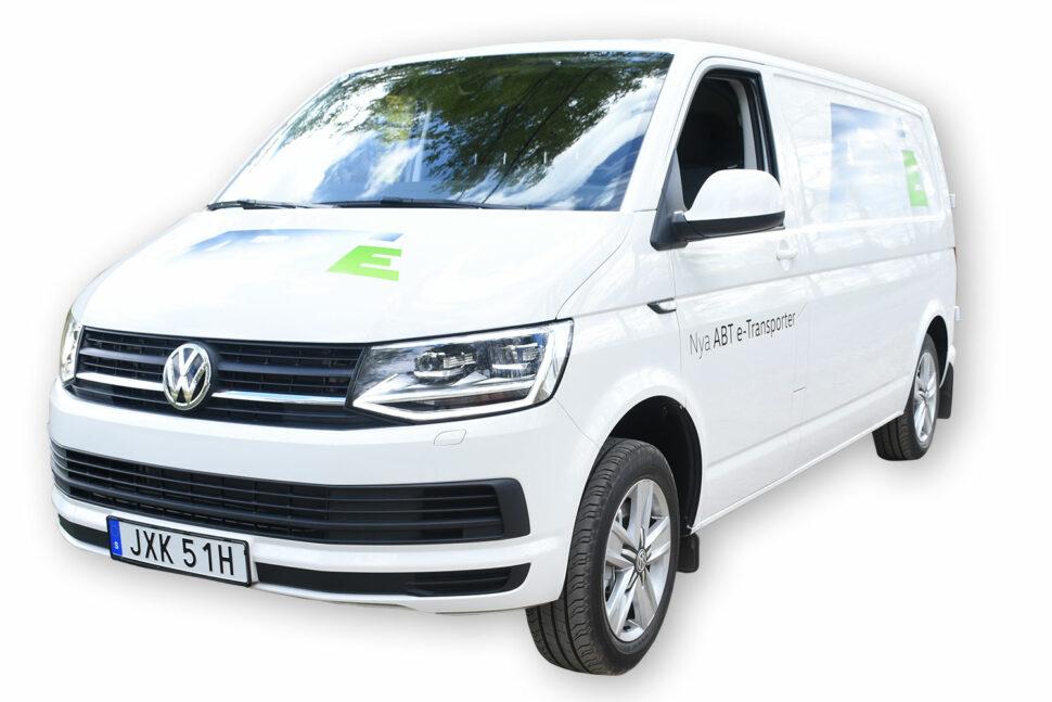 Volkswagen ABT e-Transporter, 1 500 kg.