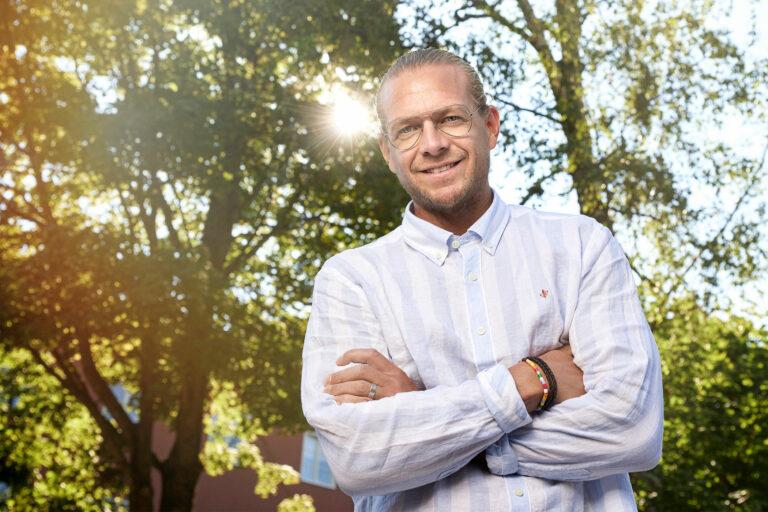 Conny Ryk, koncernchef Vestum